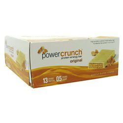 Power Crunch Bar, 12 Bars, Salted Caramel Flavor 644225722707