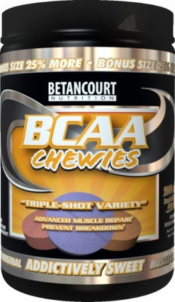 Betancourt Nutrition BCAA Chewies, 160 Chewables
