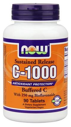 NOW Foods Vitamin C-1000 Complex, 90 Tablets