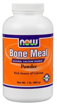 NOW Foods Bone Meal Powder, 1 Pound
