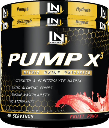 Lecheek Nutrition Pump X3, 40 Servings