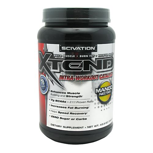 Xtend, 90 Servings, Pineapple Flavor 812135020682