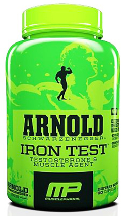 Arnold by Musclepharm IRON TEST, 90 Capsules