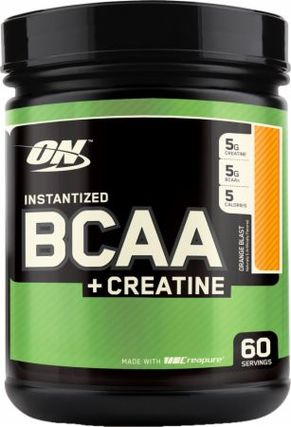 Optimum Nutrition BCAAS + CREATINE POWDER, 60 Servings