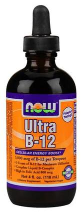 NOW Foods Ultra B-12 Liquid, 4 Fluid Ounces