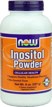 NOW Foods Inositol Powder Vegetarian, 8 Ounces