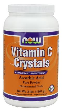 NOW Foods Vitamin C Crystals, 3 Pounds