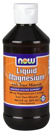 NOW Foods Liquid Magnesium, 8 Ounces