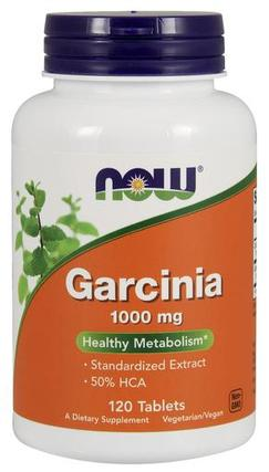 NOW Foods Garcinia 1,000 mg Tabs, 120 Tablets
