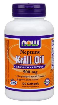 NOW Foods Neptune Krill Oil Softgels, 120 Softgels