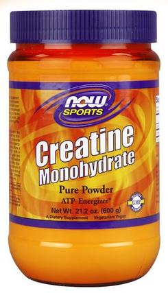 NOW Foods Creatine Monohydrate, 600 Grams