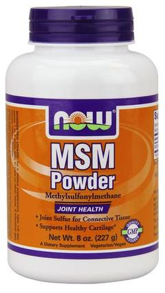 NOW Foods MSM Powder, 8 Ounces