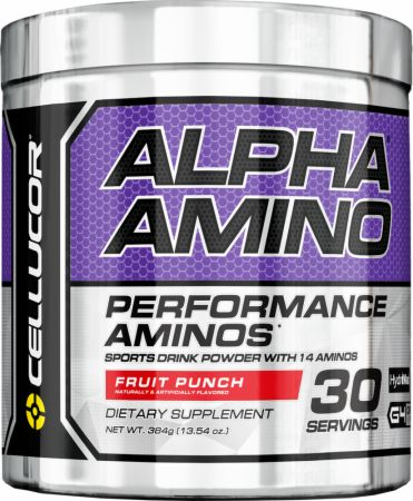 Alpha Amino, 30 Servings, Fruit Punch Flavor 810390024094, 810390021413