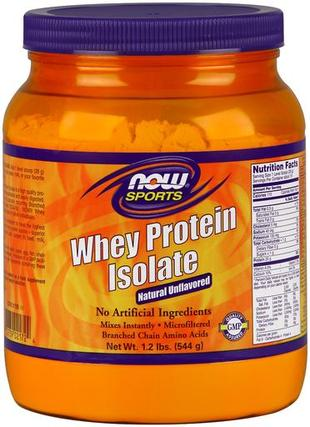 NOW Foods Whey Protein Isolate, 1.2 Pounds