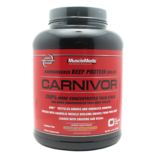 Carnivor, 4.4 Pounds, Choclate Peanut Butter Flavor 891597003655