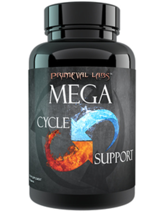 Primeval Labs Mega Cycle Support, 120 Capsules