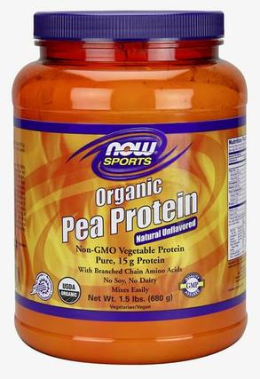 NOW Foods Pea Protein Organic, 1.5 Pounds