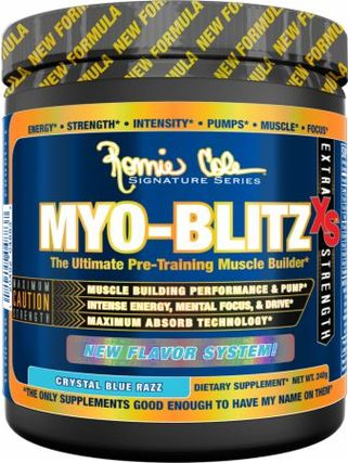 Ronnie Coleman Series Myoblitz XS Powder, 30 Servings