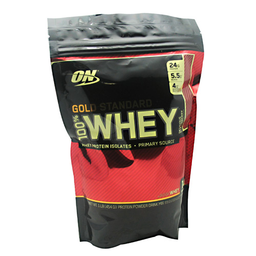 100% Whey Gold Standard, 1 Pound, Delicious Strawberry Flavor 748927052244