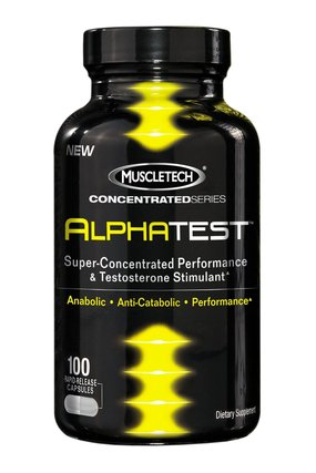 Muscletech Alpha Test, 100 Capsules