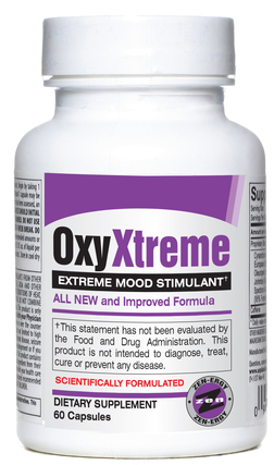 Hard Rock Supplements OXY AMP Xtreme, 60 Capsules