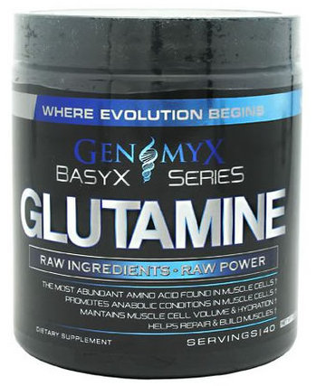 Genomyx Glutamine, 40 Servings