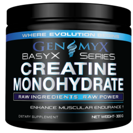 Genomyx Creatine Monohydrate, 60 Servings