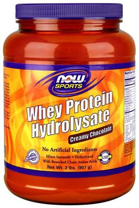 NOW Foods Whey Protein Hydrolysate, 2 Pounds