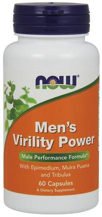 NOW Foods Men's Virility Power, 60 Capsules