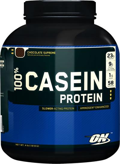 100% Casein Protein, 4 Pounds, Chocolate Cake Batter Flavor 748927026689
