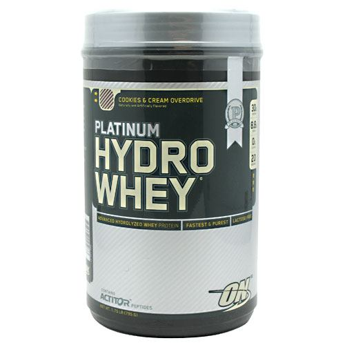 Platinum Hydrowhey, 1.75 Pounds, Cookies & Cream Flavor 748927025033