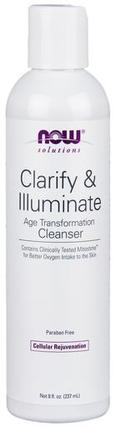 NOW Foods Clarify & Illuminate Cleanser, 8 Ounces