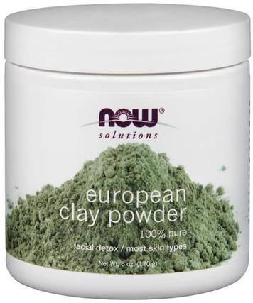 NOW Foods European Clay Powder, 6 Ounces