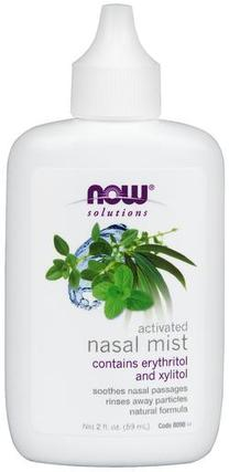NOW Foods Nasal Mist Activated, 2 Ounces