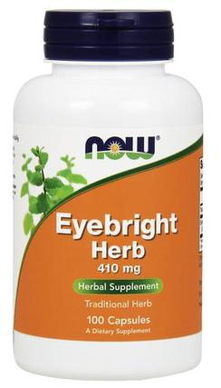 NOW Foods Eyebright Herb 410 mg, 100 Capsules