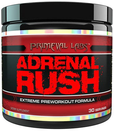 Primeval Labs ADRENAL RUSH, 30 Servings