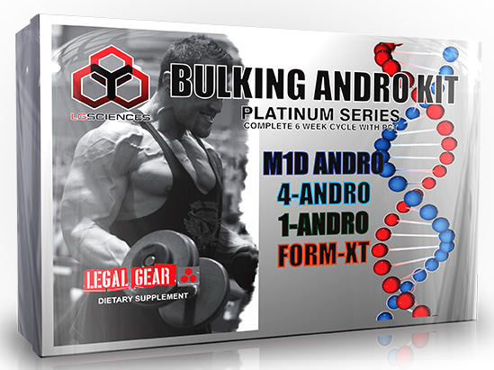 LG Sciences Bulking Andro Kit, 1 Kit