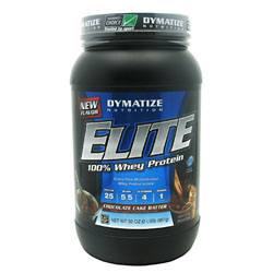 Elite Whey Protein, 2 pound, Chocolate Cake Batter Flavor 705016599233