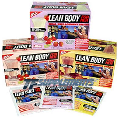 Lean Body for Her, 20 Packets, Delicious Strawberry Ice Cream Flavor 710779112728