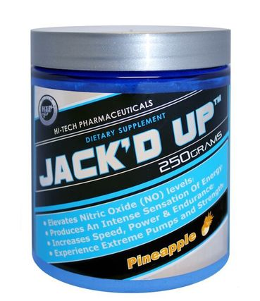 Hi-Tech Pharmaceuticals JACK'D UP, 45 Servings