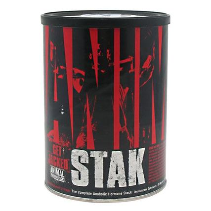 Universal Nutrition Animal Stak 2 Natural ''Test'', 21 Packets