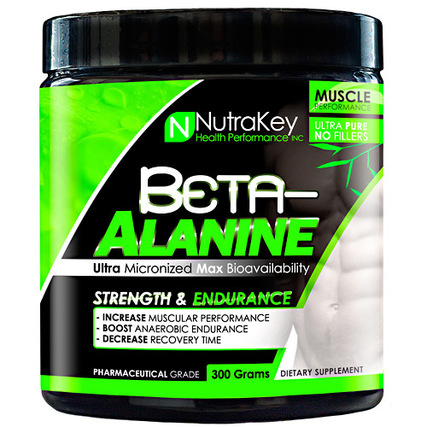 Nutrakey Beta-Alanine, 300 Grams