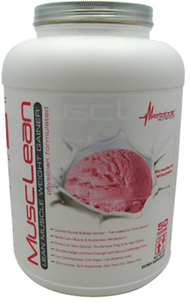 Metabolic Nutrition MuscLean, 5 Pounds