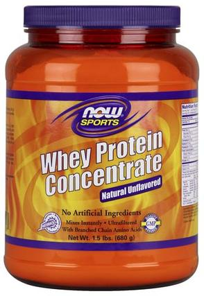 NOW Foods Whey Protein Concentrate, 1.5 Pounds