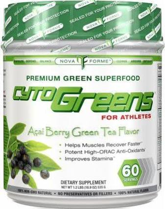 Allmax Nutrition CytoGreens, 60 Servings