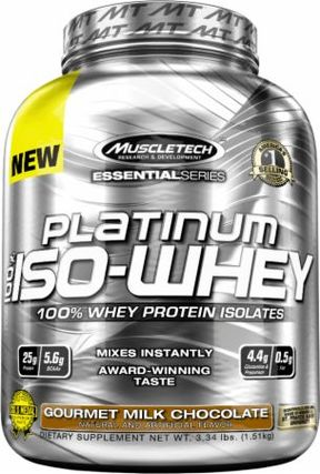 Muscletech 100% Platinum Iso-Whey, 48 Servings
