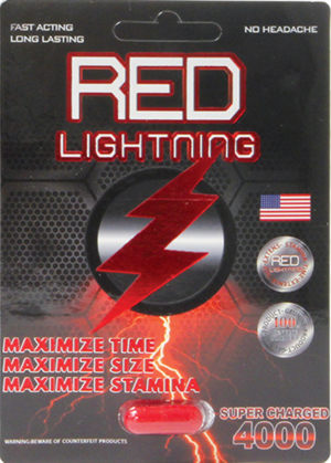 Eldorado Red Lightning Male Enhancement Pill, 1 Capsule