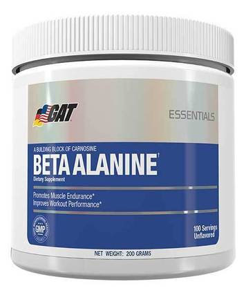 G A T Beta-Alanine, 200 Grams