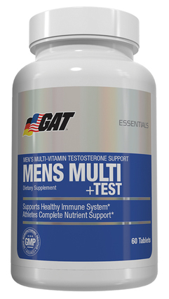 G A T Mens Multi + Test, 60 Tablets