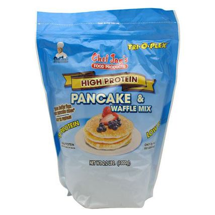 Chef Jay's High Protein Pancake & Waffle Mix, 17 Servings